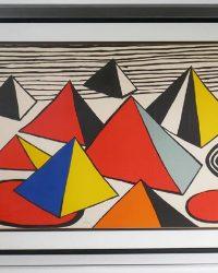 Alexander-Calder-Pyramids-Signed-Litho-#d-to-50