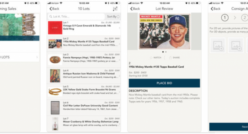 Download our new live bidding app!