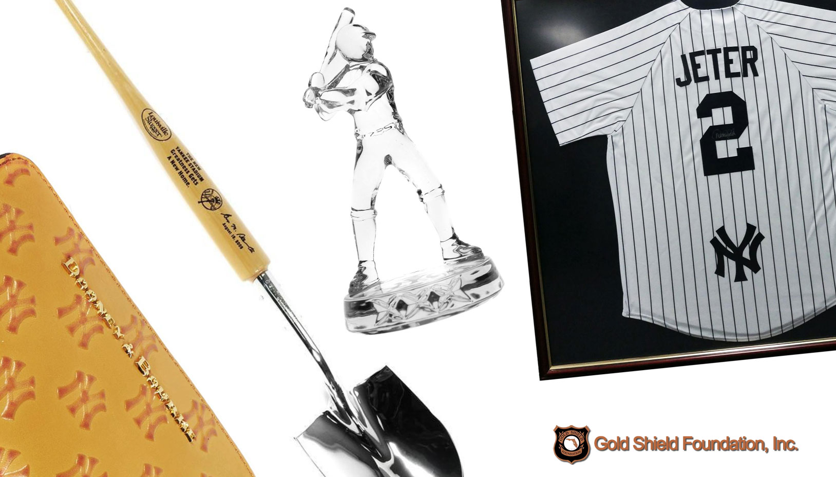 Items to Benefit Gold Shield Foundation